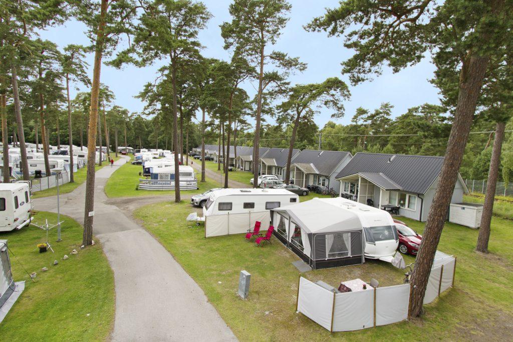 Karta Camping Skane.Dygnscamping Ystad Camping